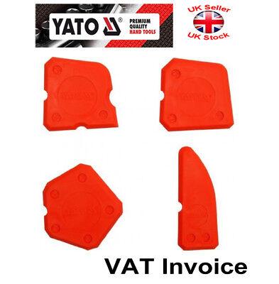 caulk Remover 4pcs YATO YT-5262 Silicone Mastic épandeur Finishing Tool Kit