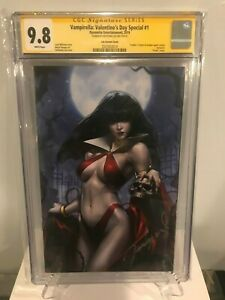Vampirella-Valentine-039-s-Day-Special-1-CGC-SS-9-8-Virgin-Cover-Jeehyung-Lee