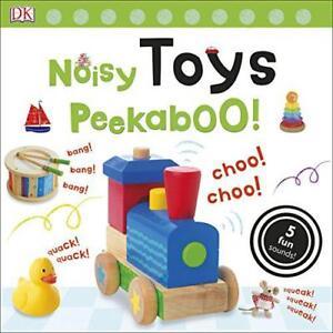 Noisy-Toys-Peekaboo-Noisy-Peekaboo-by-DK-Board-book-book-9780241237762