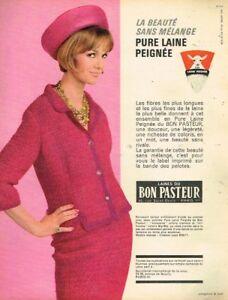 6116769620daa7 Détails sur I - Publicité Advertising 1963 Vetement Tailleur En Laines du  Bon Pasteur