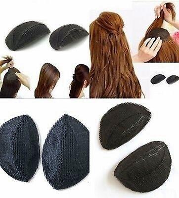 2er Set Frisurenhilfe Haar Volumen Kissen Haarkissen Bumpits mit Klettband | eBay