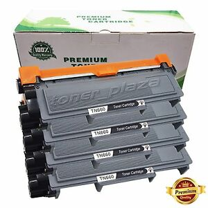 4-X-High-Yield-Black-Toner-Cartridge-for-Brother-TN660-TN630-DCP-L2540DW-Printer