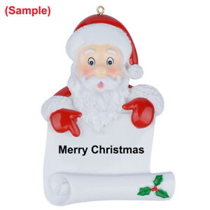 Santa-039-s-Scroll-Personalized-Christmas-Ornament-Personalized-Holiday-Gifts