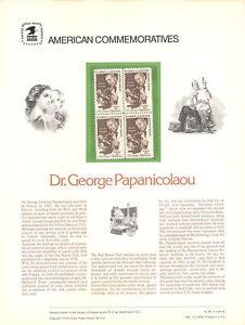 96-13c-George-Papanicolaou-1754-USPS-Commemorative-Stamp-Panel