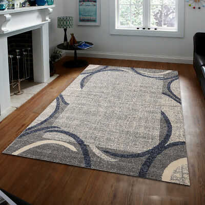 Blue Gray Brown Or Red Area Rugs Carpet By Msrugs Made In Turkey Ebay