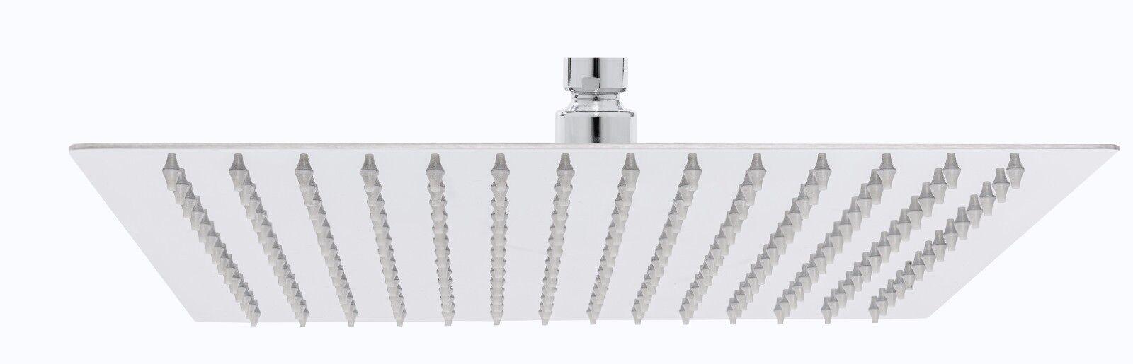 Duschkopf Regendusche Dusche Rainshower Edelstahl V304 Quadratisch