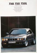 BMW 7er E32 730i - 735i - 735iL - Farben/Polster 1/88