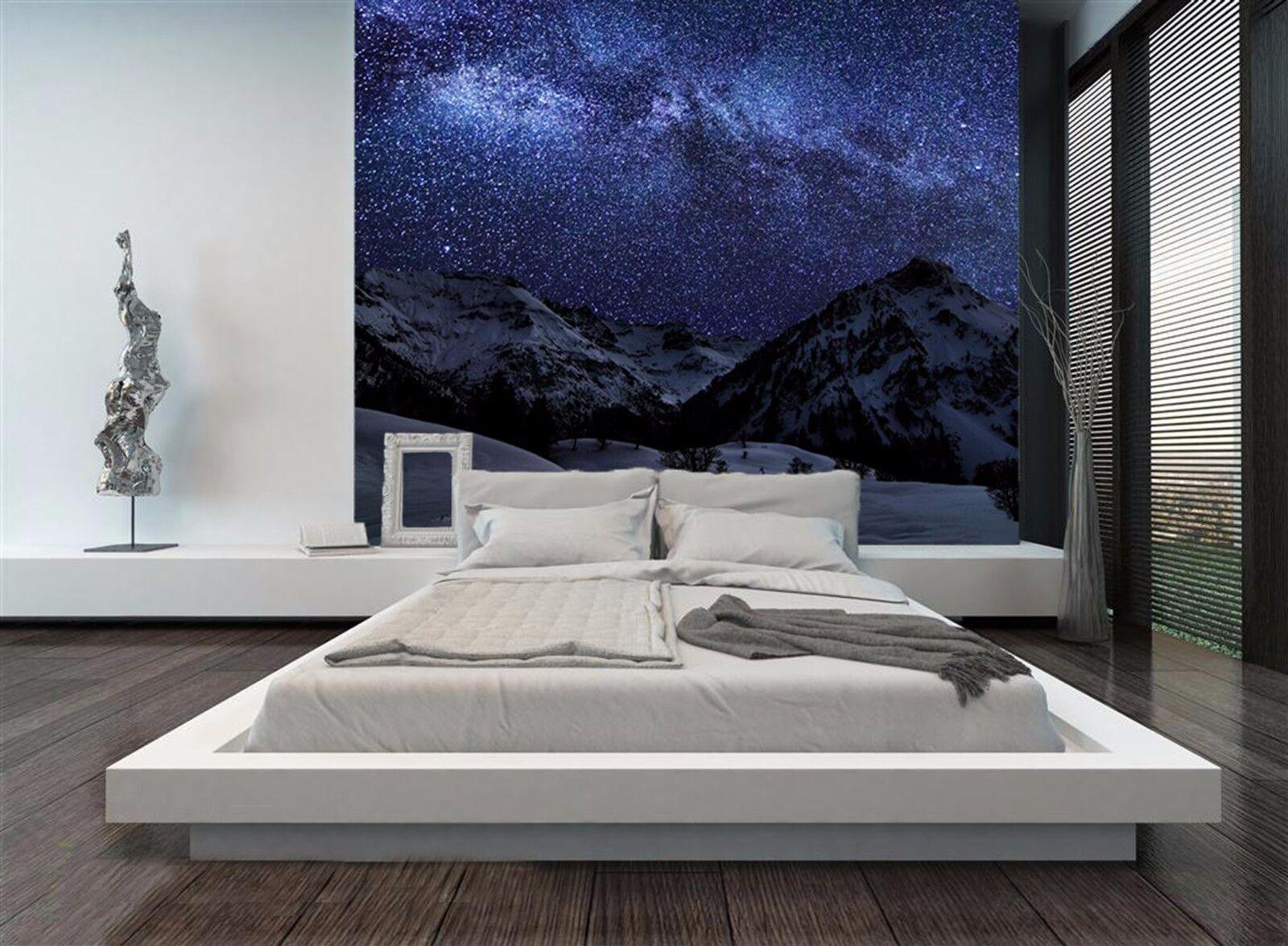 3D Night sky hill 3235 Wall Paper Wall Print Decal Wall Indoor Murals Wall US