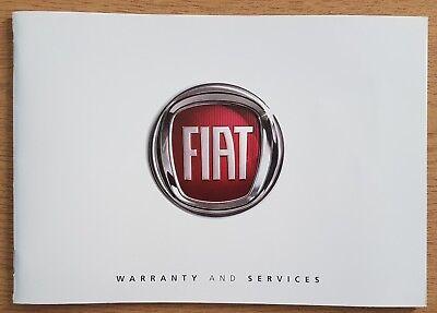 USED FIAT GENUINE  SERVICE BOOK