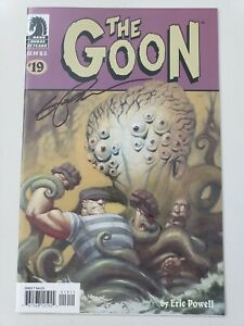 THE-GOON-19-2007-DARK-HORSE-COMICS-AUTOGRAPHED-by-ERIC-POWELL-with-COA-NM