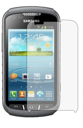 3 Anti-rayadura guardias de películas de aluminio cubierta de la pantalla para Samsung S7710 Galaxy Xcover 2