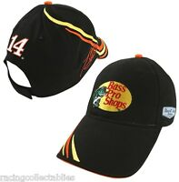 Tony Stewart 14 Bass Pro Shops Element Hat With Tags By Chase Free Ship