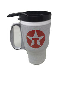 Vintage-1997-16-Ounce-Texaco-Pride-Travel-Mug-Coffee-Cup-The-Traveler