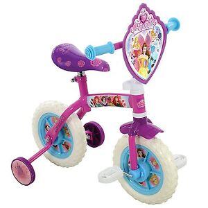 Disney-Princess-2-in-1-Training-amp-Laufrad-10-034-Maedchen-Kinder-Verstellbar-Age-2