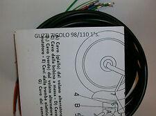 IMPIANTO ELETTRICO ELECTRICAL WIRING MOTO GUZZI ZIGOLO 98 1°s.+ SCHEMA ELETTRICO