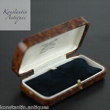 Antique box for wrist watch, bracelet, brooch, chain British H Samuel Manchester