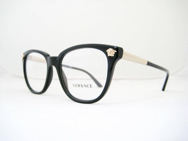 53a567b745 Authentic Versace Eyeglasses Women Ve 3242 Black Gb1 Ve3242 for sale ...