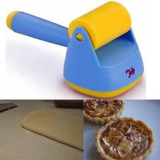 Blue Pastry Dough Bash Durable Plastic TALA Roller Mini Kids Bakery Christmas