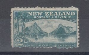 New-Zealand-1902-2-Grey-Green-SG316-MH-J4987