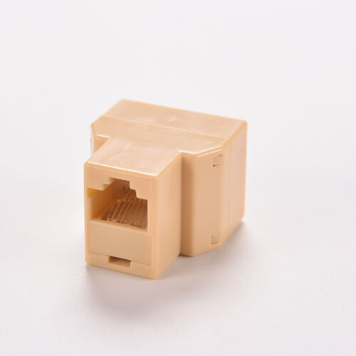 DZ517 RJ45 6 Ethernet Cable LAN Port 1 to 2 Socket Splitter Connector Adapter/_WK