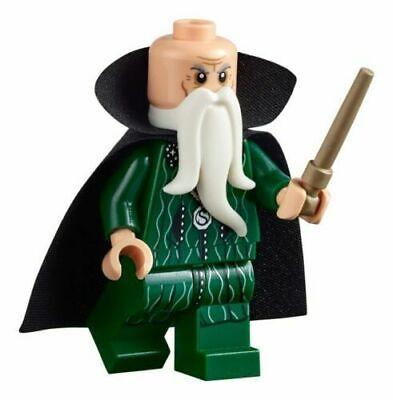 New Lego Harry Potter Salazar Slytherin Minifigures 71043 w// wand .