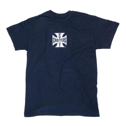 West Coast Choppers Herren T-Shirt Cross ATX Navy