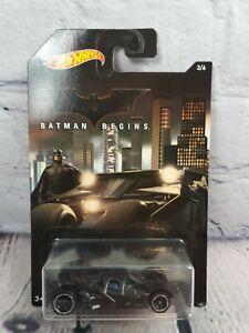 Batimóvil Batman Inicia Diecast Coleccionables DC Comics 3/6 por Mattel Hot Wheels