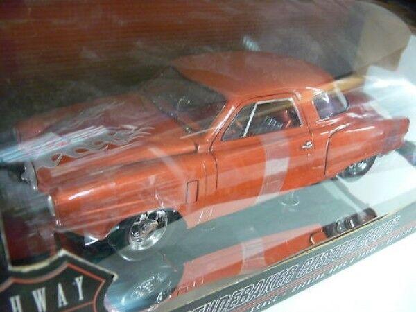 1 18 Highway 61 Studebaker Custom Coupe Orange  | Shop