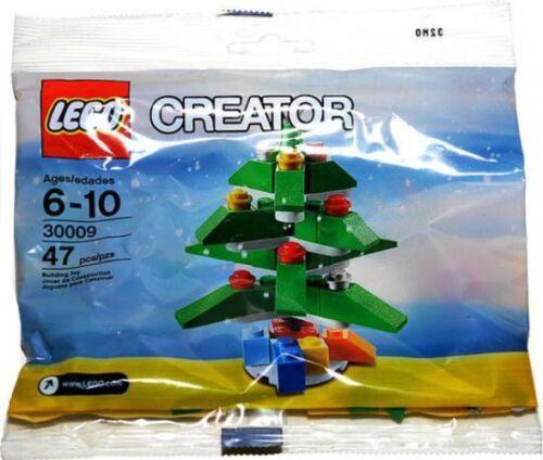 Bagged LEGO Creator 2009 Christmas Tree Mini Set #30009