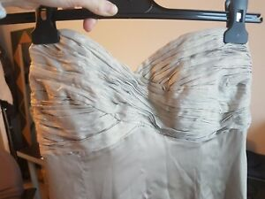 Image Is Loading Las Gold Silk Coast Ball Gown Size 10