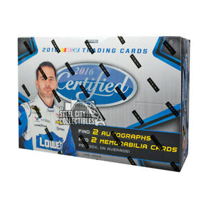 2016 Panini Certified Racing Hobby Box