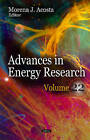 Advances in Energy Research: Volume 22 by Nova Science Publishers Inc (Hardback, 2015)