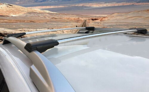 Bloqueable aerowingbar Baca Barra Transversal Set sirve para BMW X5 E53 1999-2006