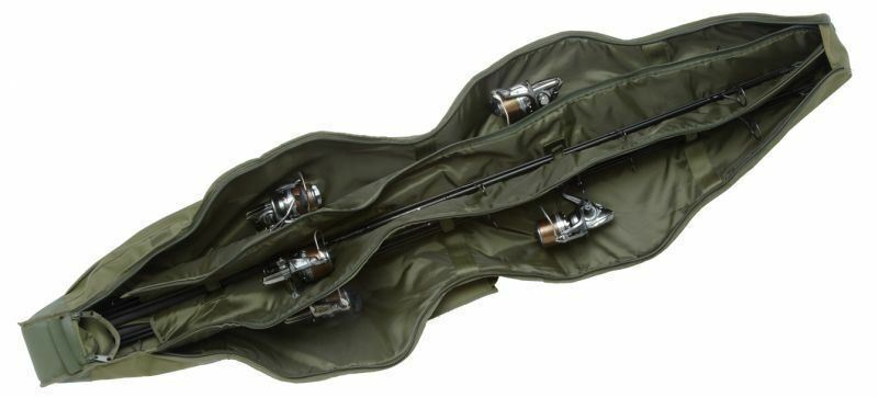 Trakker Nxg Compact 5 Canne Manche 12 ft (environ 3.66 m) Pêche à la carpe bagages