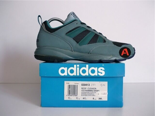 UNWORN 1995 VINTAGE ADIDAS TORSION RESPONSE CUSHION RUNNING Chaussures ROM MONZA 90`S