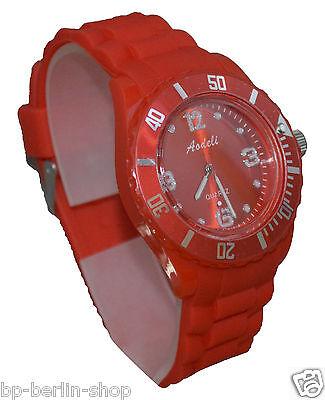Silikon Armband Uhren mit verschiedenen bunt Farben für jede Zeit jeden Ort