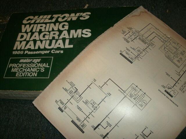 1986 Oldsmobile Cutlass Supreme Wiring Diagrams Manual