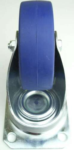 40 Rollen SL 100mm Blue Wheel Lenkrollen Transportrollen Schwerlastrollen Wheels