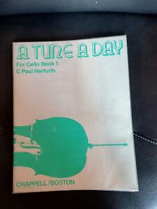 Bien éDuqué 11417) Une Tune A Day For Cello Book 1 C Paul Herfurth Chappell/boston-n Fr-fr Afficher Le Titre D'origine