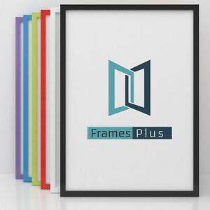A2 A3 A4 Black White Wooden Photo Frame Picture Poster Frames Multi Colour
