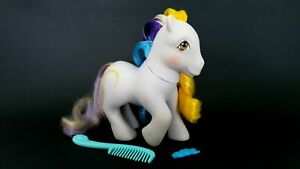 Ringlets-Brush-N-Grow-G1-Vintage-My-Little-Pony-With-Accessories