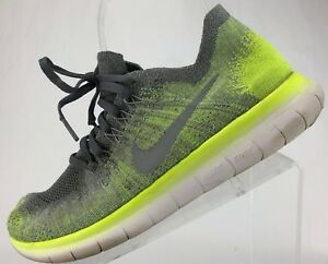 756870a4283e Nike Free RN Flyknit 2017 - Running Training Youth Sneakers Junior 7 ...