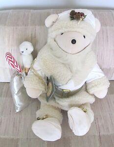 North American Bear Co VIB 1989 'BEAR NOEL' Christmas Limited Edition #3801/8000