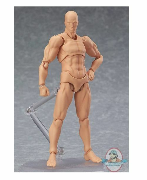 Figma Archetype Archetype Archetype Next Male Figure Flesh color Version Max Factory f61f2d