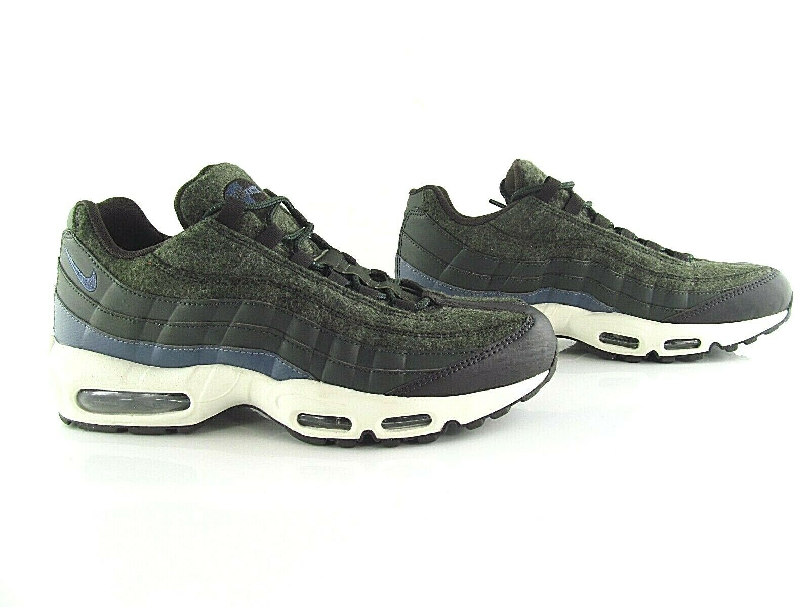 Nike Air Max 95 PRM Premium  Wool Pack Seqoia   Black 90 UK_9 US_10 Eur 44