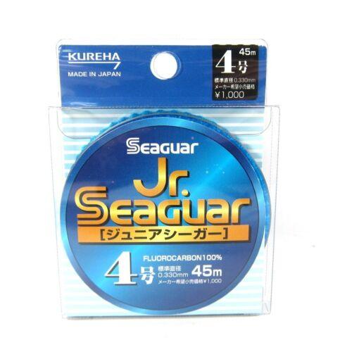 Seaguar Jr Fluorocarbon Leader Ligne 50m Size 2 8lb 0.235mm 2251