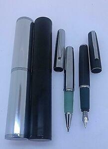 pluma estilografica boligrafo 55 color granate inoxcrom