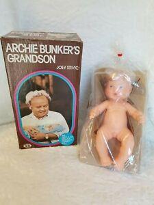 Vintage-Doll-1976-Ideal-Archie-Bunker-039-s-Grandson-034-Joey-034-in-Original-Box