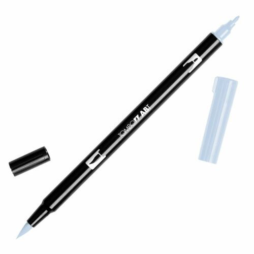 Gray and Colourless blender Tombow Dual Brush Pen  ABT N00 to N95  Black