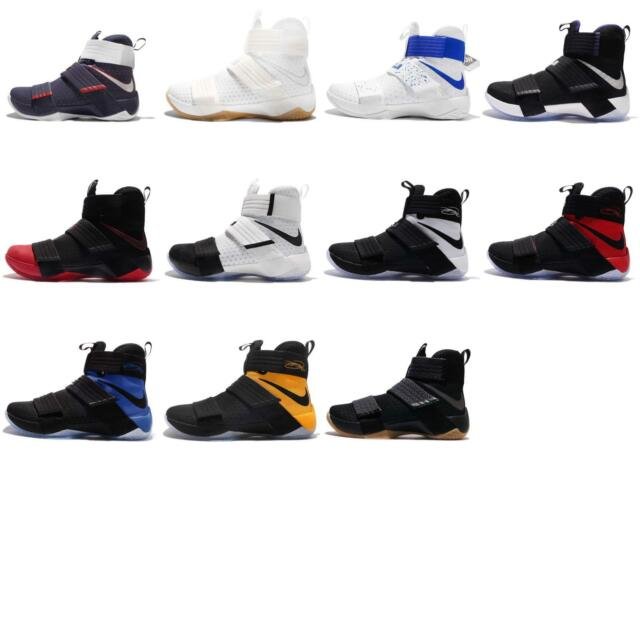 4b5bff275af3 Nike Lebron Soldier 10 SFG EP X James Strive for Greatness Men Basketball  Pick 1